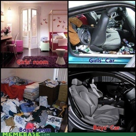 cars clean Memes men rooms women - 5680320768
