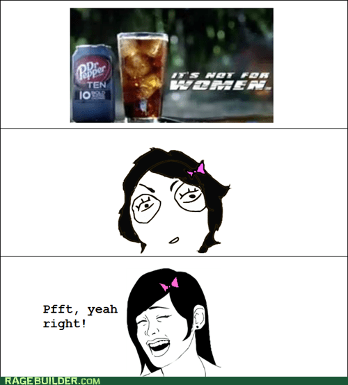 dr pepper Rage Comics women yao ming female - 5680364800