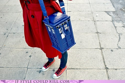 bags cool accessories doctor who purses tardis - 5680381440