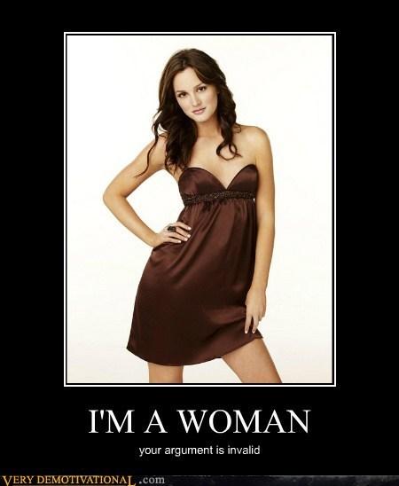 I'm a woman