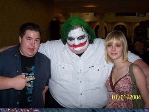 cosplay,fat joker,joker,WHY SO SERIOUS