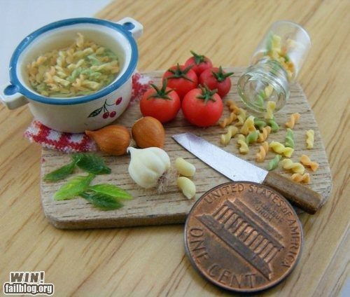 art food model sculpture tiny - 5680590848