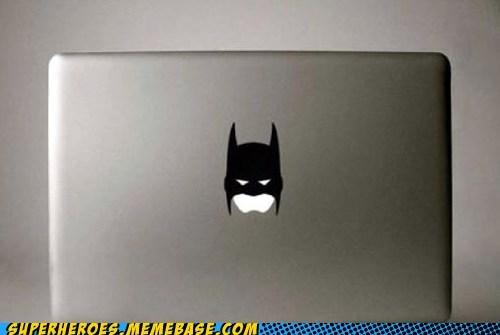 batman mac mask night Random Heroics sticker - 5680940288