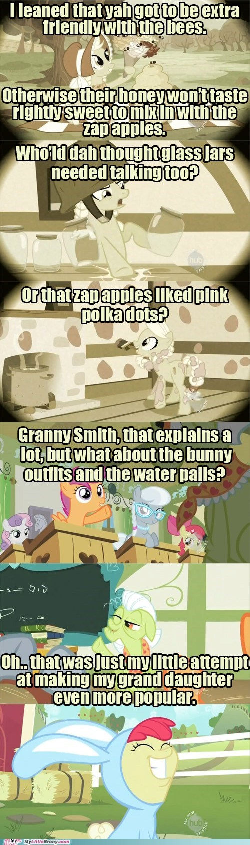apple bloom,comic,comics,granny smith,popular