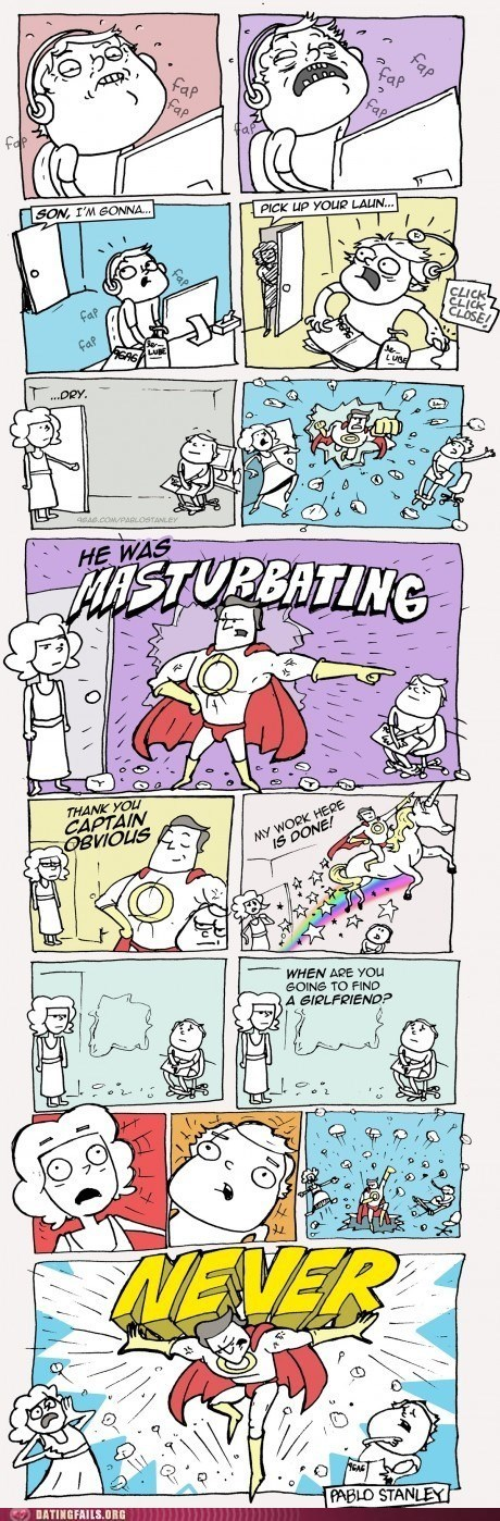 busted captain obvious comic fap fap fap fapping mother - 5680997376