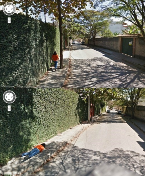 Google Maps Lady,Google Street View Find,Like A Bad Dream,Worst Nightmare Realized