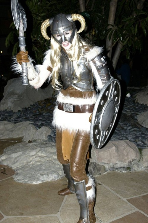 cosplay cosplay corner dovahkiin Skyrim video games - 5681103360