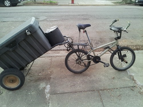 bicycle,overkill,towing,wtf