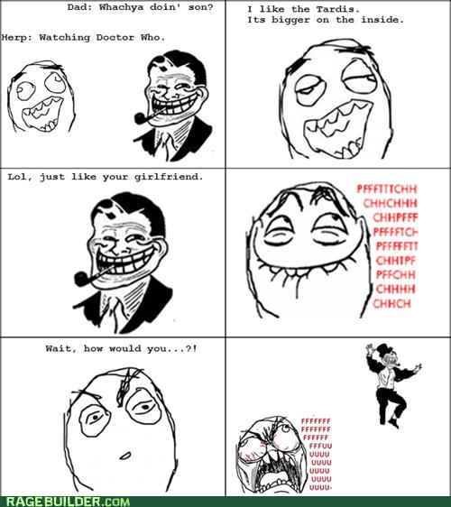 parenting pfftch Rage Comics troll dad - 5681330944