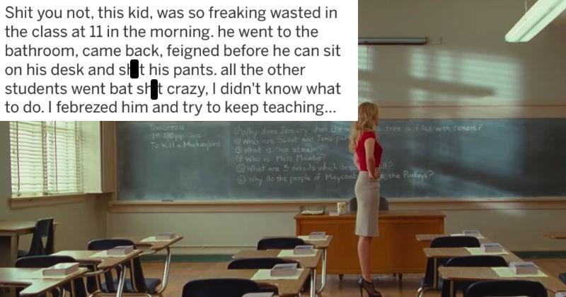 Sad school wtf askreddit teacher substitute - 5681413