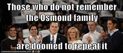 election 2012 Mitt Romney osmonds political pictures - 5681749248