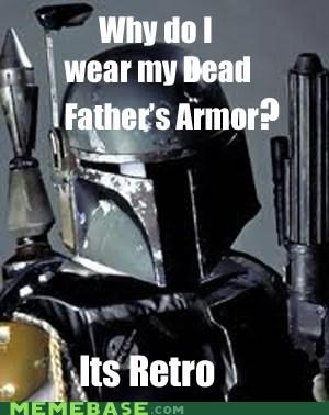 armor boba fett hipster-disney-friends retro star wars - 5681843456