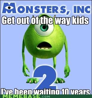 kids Memes monsters inc movies pixar - 5682203136