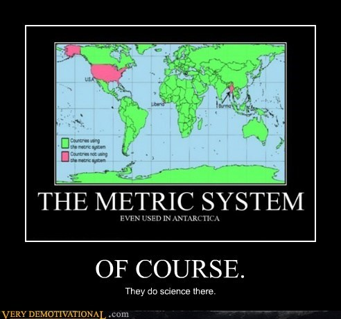antarctica idiots metric system standard system - 5682291200