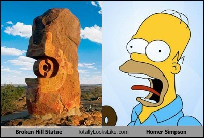 animation,funny,homer simpson,statue,the simpsons,TLL,TV