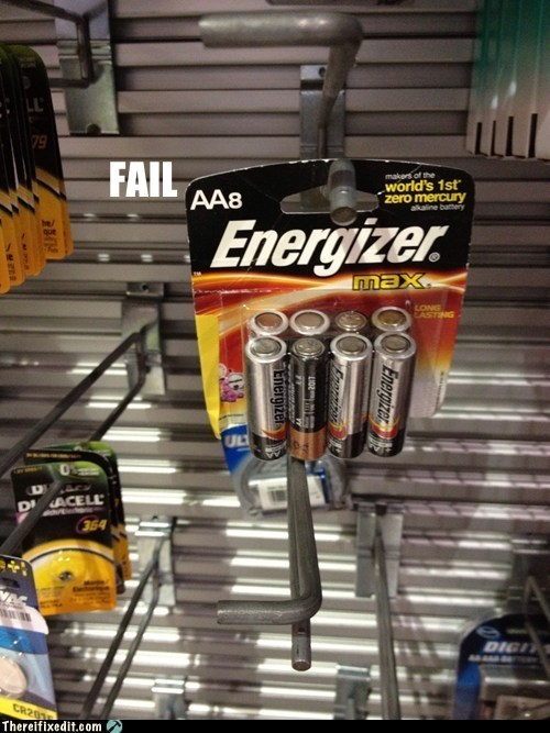 batteries product fail wtf - 5683276032