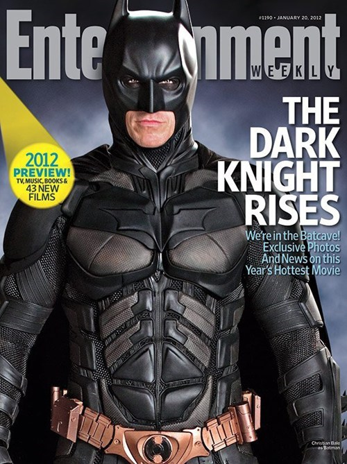 cover story,Entertainment weekly,movies,Nerd News,superheroes,the dark knight rises