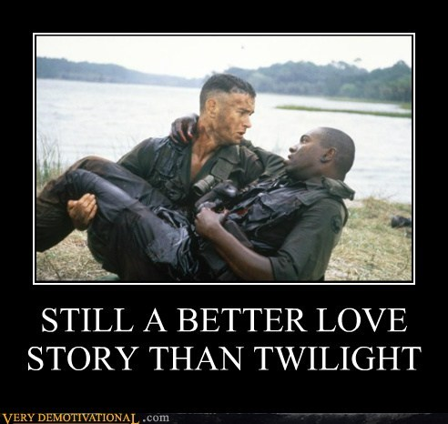 bubba forest gump hilarious love story shrimp twilight - 5683917824