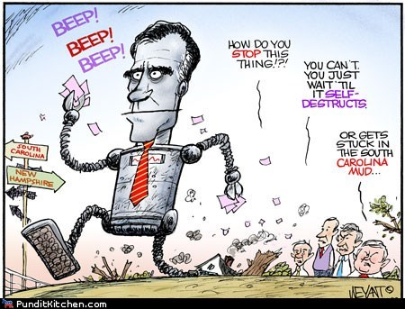 comics election 2012 Mitt Romney political cartoons political pictures Republicans - 5683984128