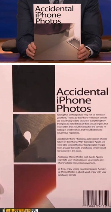 accidental iphone photos book camera coffee table conan conan obrien - 5684284160