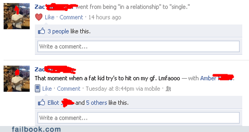 fat kid,oh snap,relationship status