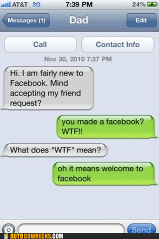 acronym dad facebook parent parenting wtf - 5684503040