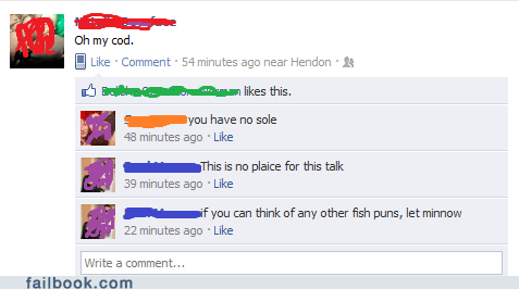 fish puns witty reply - 5684564992