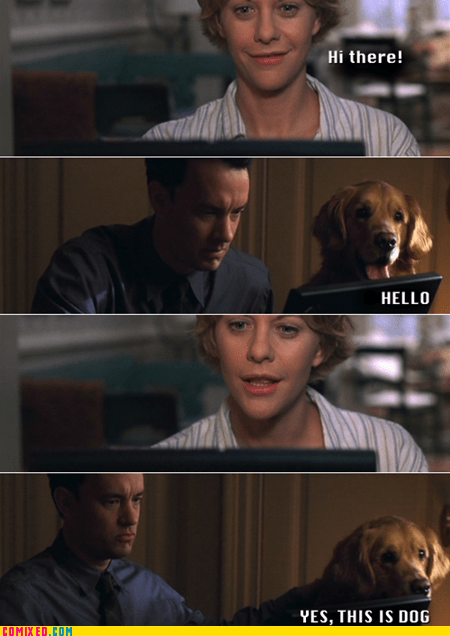 meg ryan movies the internets this is dog tom hanks youve-got-mail