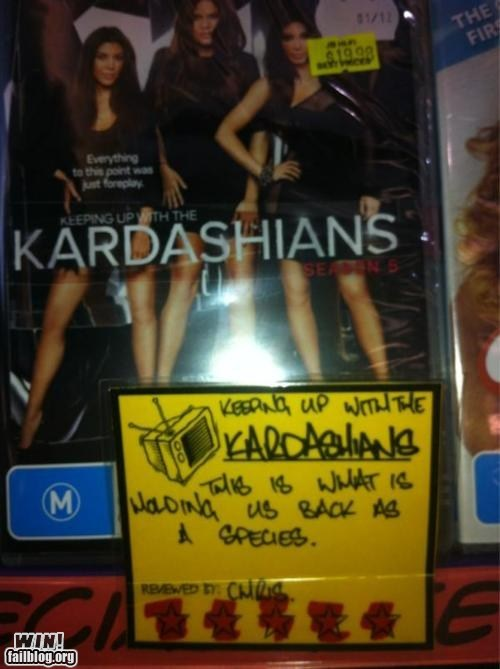 celeb DVD i-dont-want-to-live kardashians review - 5684822784