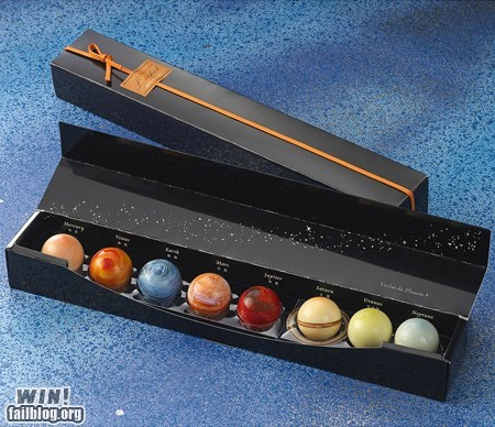 chocolate dessert food g rated Hall of Fame om nom nom planets solar system space win