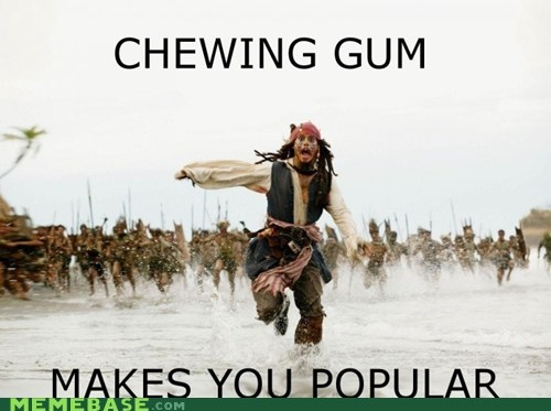 gum Memes Pirates of the Caribbean popular Rum - 5685222144