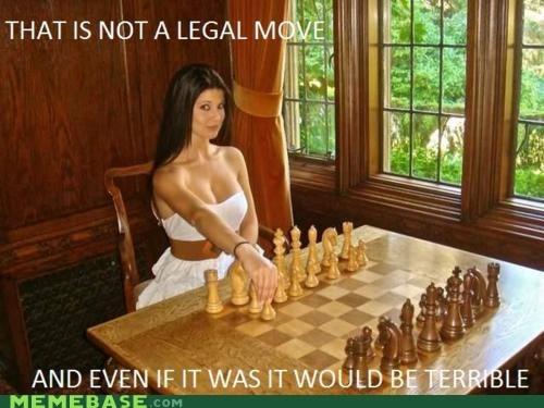 chess girl legal Memes - 5685449984