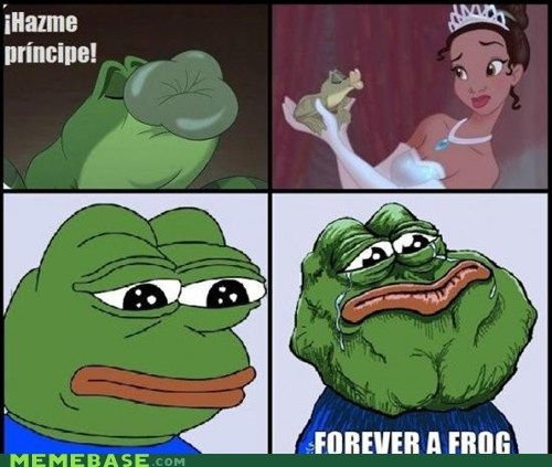 feels bad man forever alone frog princess and the frog - 5685549568