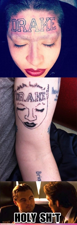 actor celeb funny Inception leonardo dicaprio meme tattoo wtf - 5685627648