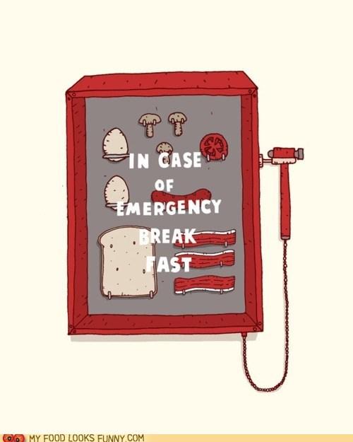 breakfast case emergency glass hammer - 5685632256