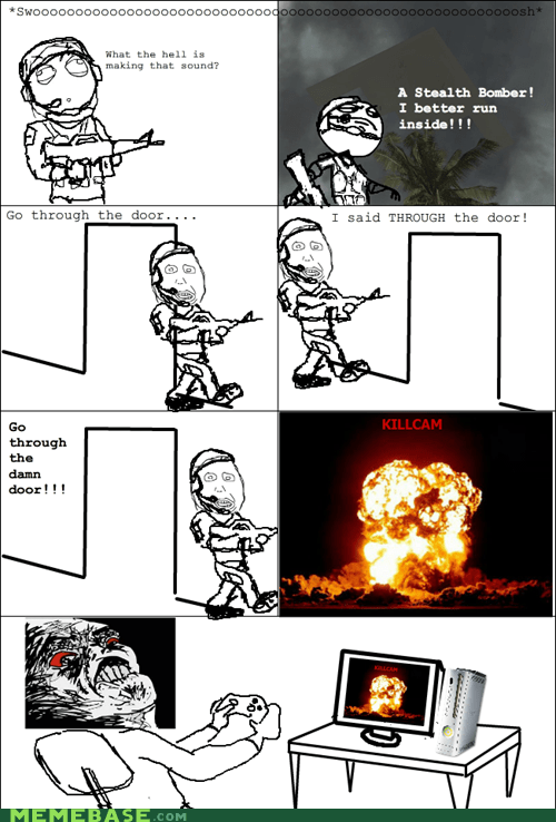 call of duty killcam Rage Comics raisin rage - 5685770496