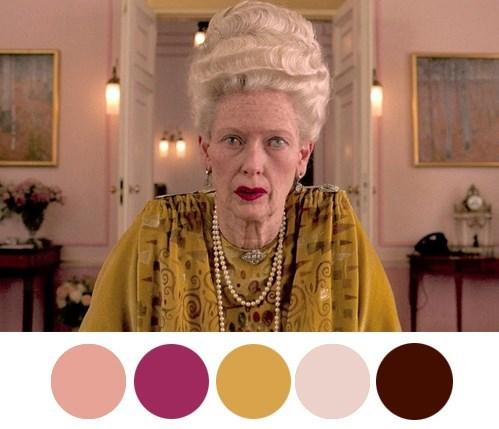 Wes Anderson grand budapest hotel colors darjeeling limited moonrise kingdom palettes A life aquatic Fantastic Mr Fox - 568581