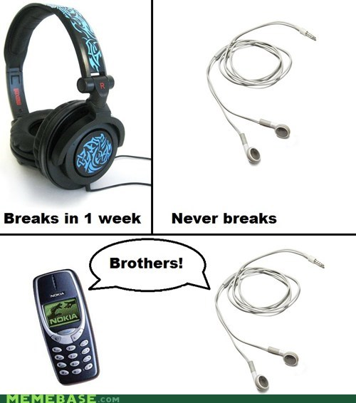 break headphones nokia phone Rage Comics - 5686111232