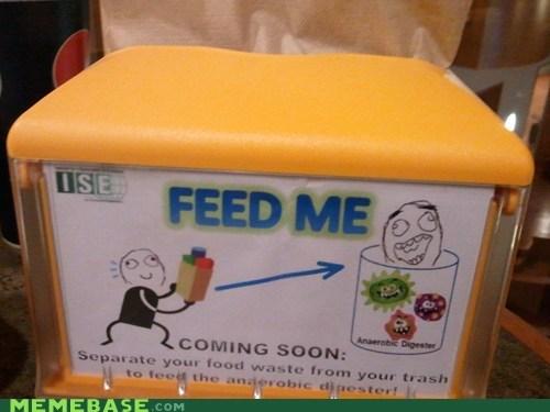 feed food IRL evolution The Internet IRL waste - 5686141184