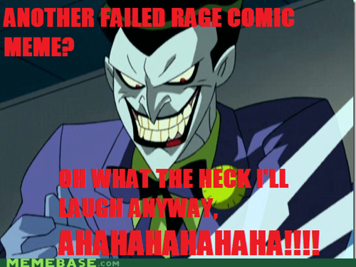 joker laugh meme Super-Lols - 5686214912