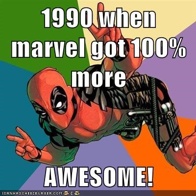 1990 awesome deadpool marvel Super-Lols - 5686430976