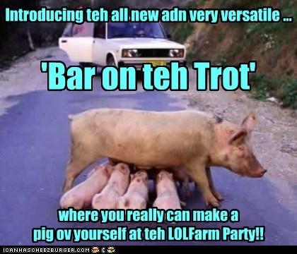 LOLFarm Party goes Hi Tech