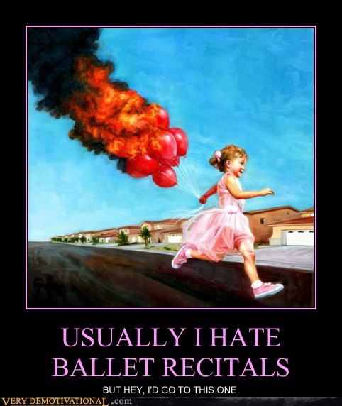 ballet Balloons fire hilarious wtf - 5686580992