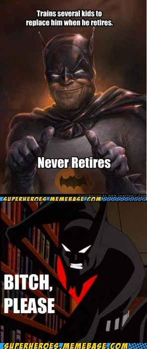 batman old retire Super-Lols