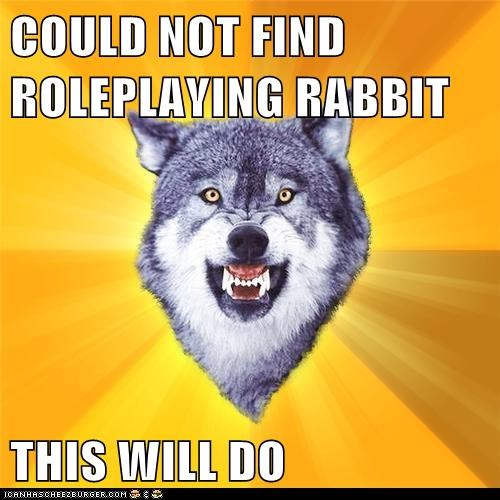 COULD NOT FIND ROLEPLAYING RABBIT  THIS WILL DO