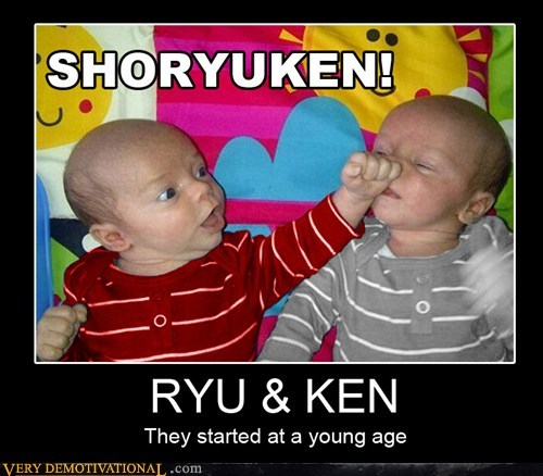 hilarious,ken,ryu,Street fighter