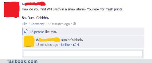 also that facebook failbook groan joke snow will smith - 5688524544