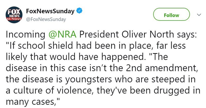 guns school shootings gun violence NRA this is America second amendment violence in america oliver north adhd add adderall ritalin adhd meds - 5688581