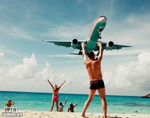 beach perspective photography plane - 5688582144