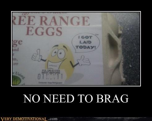 brag eggs hilarious laid - 5688687104